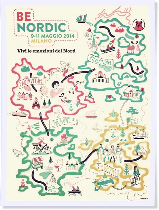 Be Nordic locandina