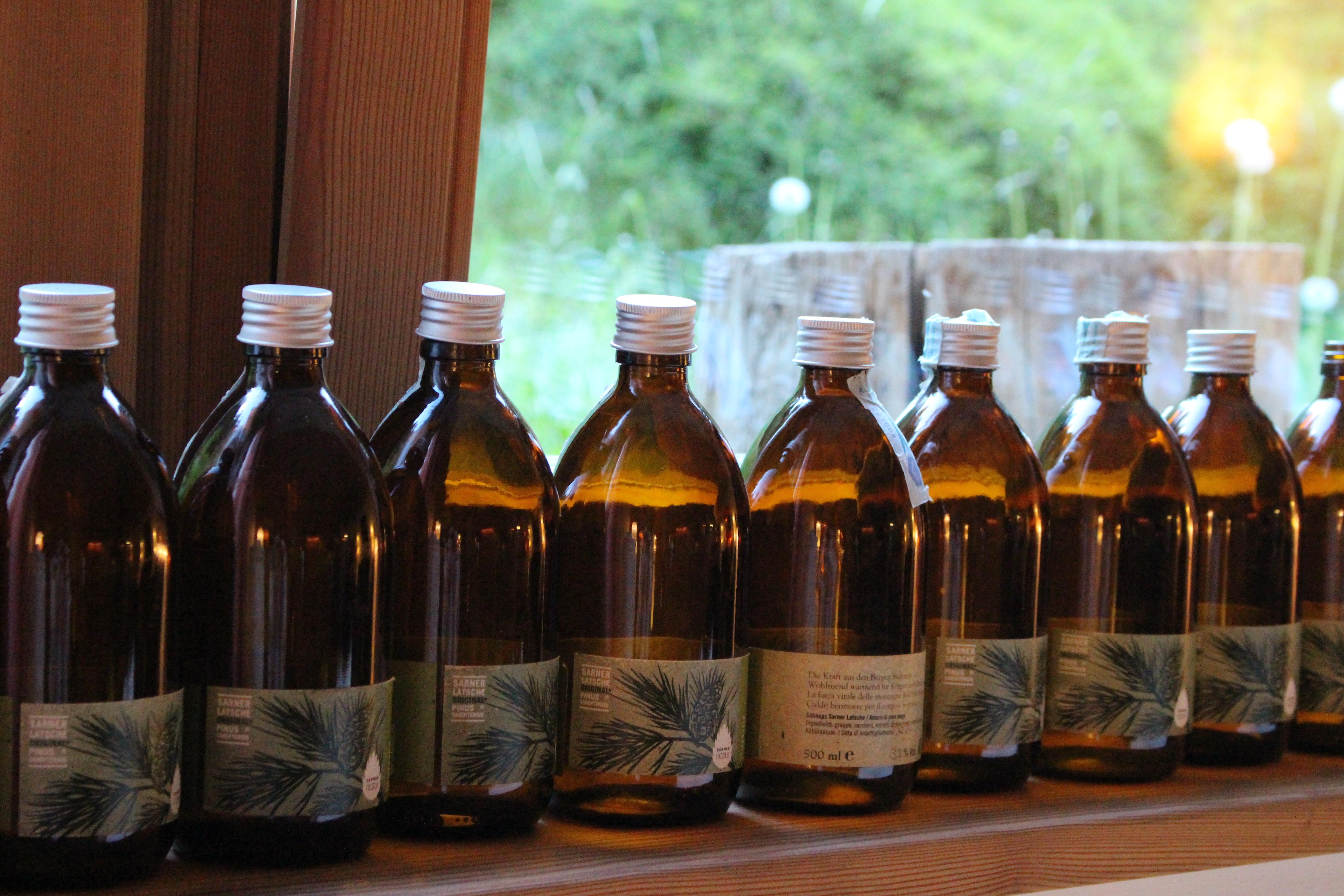 Bottiglie mugo Bad Schorgau